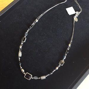 Wire Multi-strand lia sophia Necklace